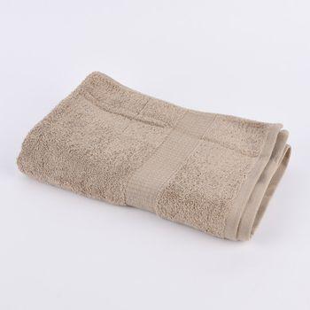 Qualitätsfrottee Handtuch 100% Baumwolle 500g/qm sandfarben – Bild 2