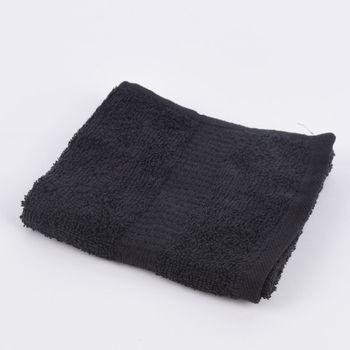 Qualitätsfrottee Handtuch 100% Baumwolle 500g/qm schwarz – Bild 8