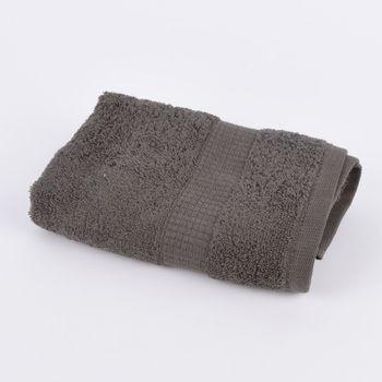 Qualitätsfrottee Handtuch 100% Baumwolle 500g/qm anthrazit grau – Bild 5