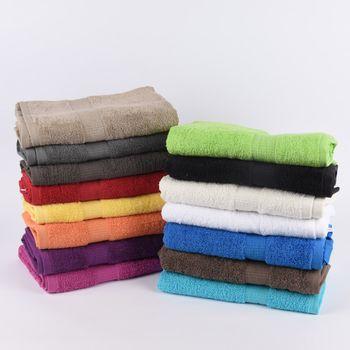 Qualitätsfrottee Handtuch 100% Baumwolle 500g/qm rot – Bild 11