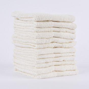 12er Set Gästehandtücher 30x50cm Qualitätsfrottee 100% Baumwolle 500g/qm einfarbig – Bild 12