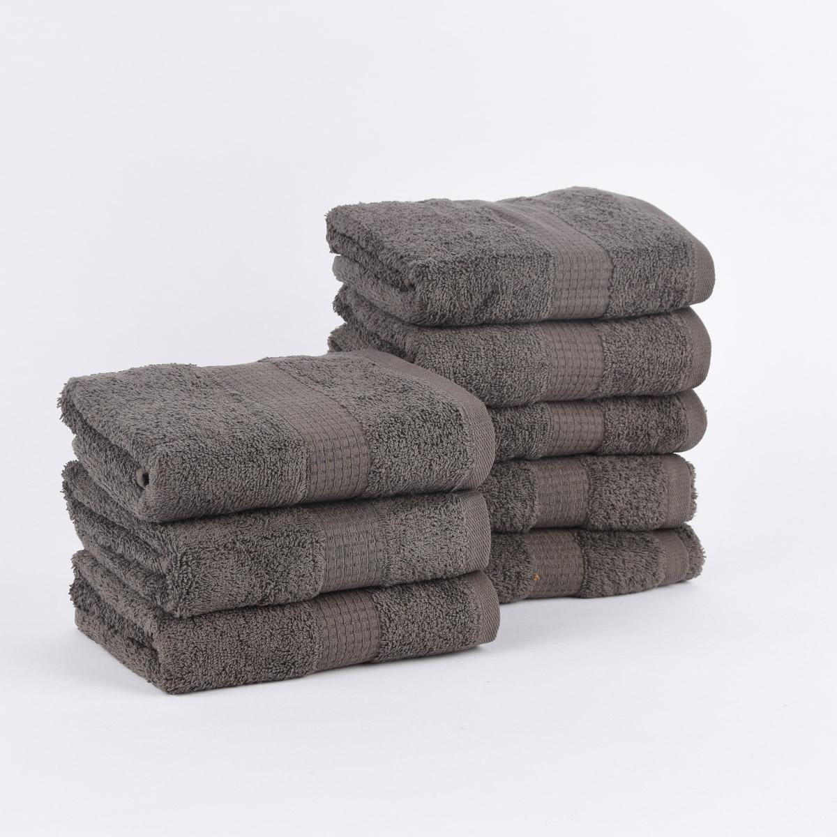 Qualitätsfrottee Handtuch 100/% Baumwolle 500g//qm orange