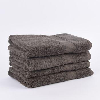 4er Set Duschtücher 70x140cm Qualitätsfrottee 100% Baumwolle 500g/qm einfarbig – Bild 25