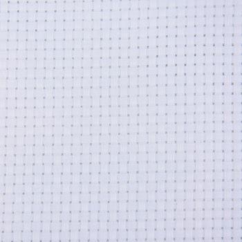 Aida Stickstoff 35 Kästchen pro 10cm weiß 50x50cm