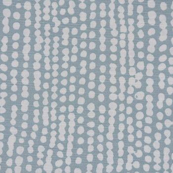 Clarke & Clarke STUDIO G Englischer Dekostoff Baumwollstoff Halbpanama Polsterstoff Rainfall Regentropfen mineral blau 138cm Breite – Bild 2