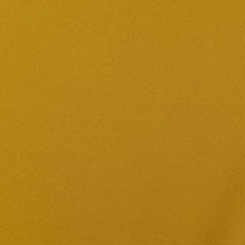 Kreativstoff Universalstoff Polyester Stretch ocker gelb 1,48m Breite – Bild 1
