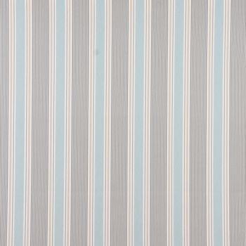 Clarke & Clarke STUDIO G Englischer Dekostoff Baumwollstoff Polsterstoff Streifen Mineral blau grau 138cm Breite – Bild 1