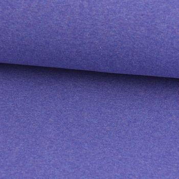 Strickschlauch Bündchenstoff fein meliert lila 35cm Breite – Bild 1