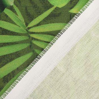 SCHÖNER LEBEN. Tischläufer Outdoor Palmen Blätter grün 40x160cm – Bild 6