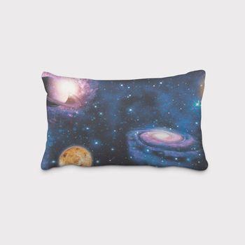 SCHÖNER LEBEN. Kissenhülle Weltall Weltraum Planeten Erde blau bunt – Bild 12