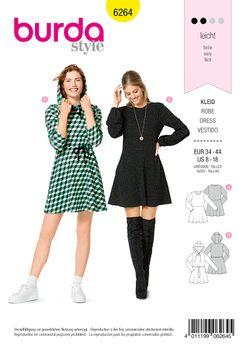 Burda Schnittmuster 6264 Kleid