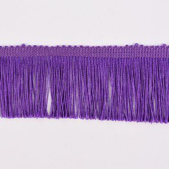 Fransenband Meterware lila Breite: 5cm – Bild 1