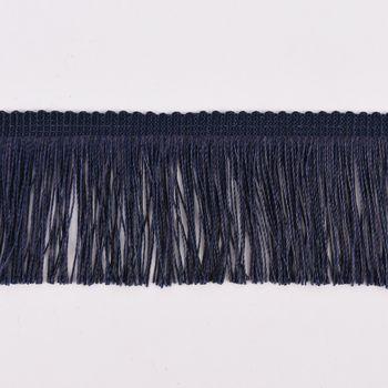 Fransenband Meterware marineblau Breite: 5cm – Bild 1