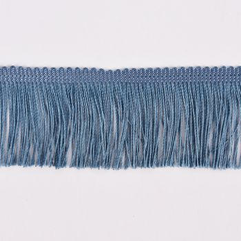 Fransenband Meterware jeansblau Breite: 5cm – Bild 1