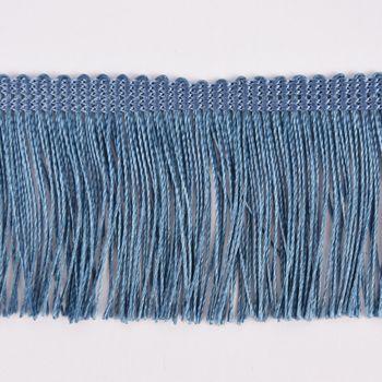 Fransenband Meterware jeansblau Breite: 5cm – Bild 2