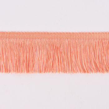 Fransenband Meterware apricot Breite: 5cm – Bild 1