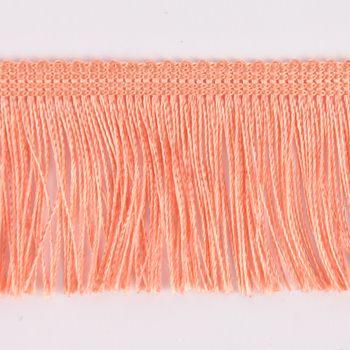 Fransenband Meterware apricot Breite: 5cm – Bild 2