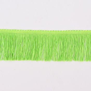 Fransenband Meterware lime Breite: 5cm – Bild 1
