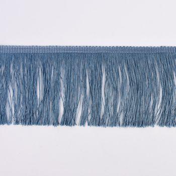 Fransenband Meterware jeansblau Breite: 10cm