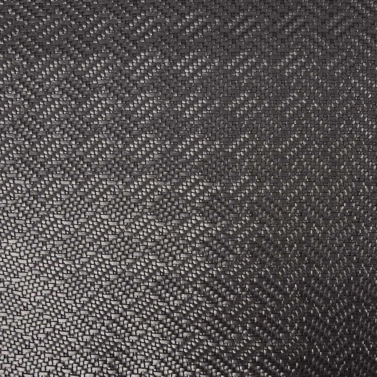 Kunstleder Lederimitat Flechtmuster stahlgrau metallic 1,4m Breite