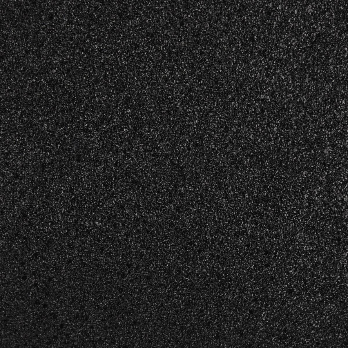 Kunstleder Lederimitat Struktur schwarz Hochglanz 1,4m Breite