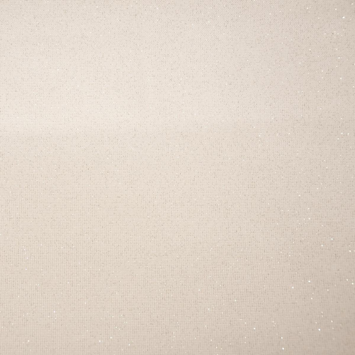 Kunstleder Lederimitat Bling Bling Glitzer creme weiß 1,4m Breite