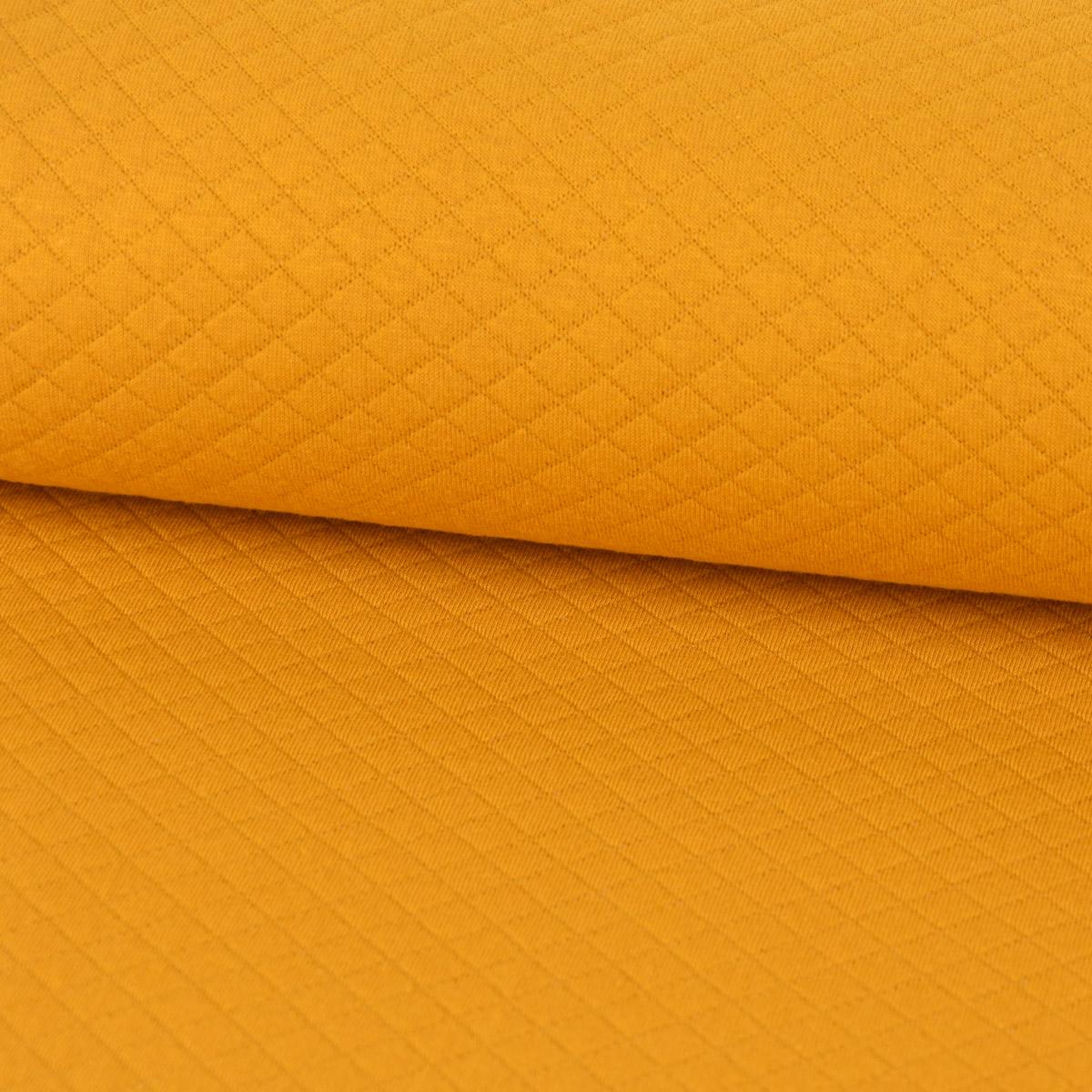 Kreativstoff Sweatstoff einfarbig orange 1,5 m Breite