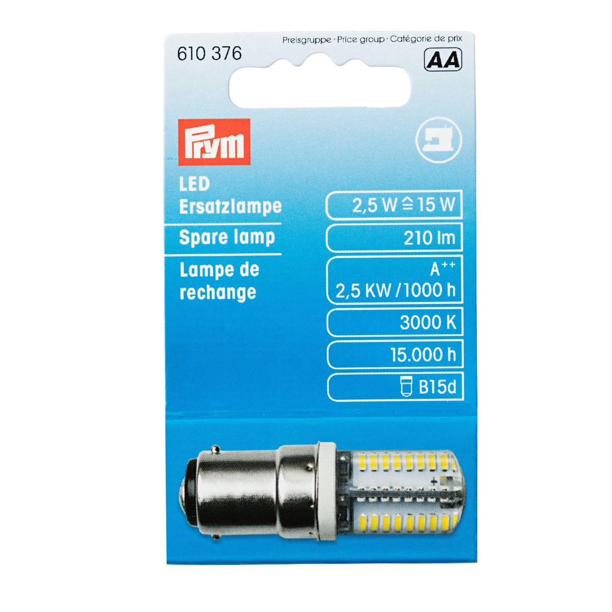 Prym LED Ersatzlampe für Nähmaschine Bajonett
