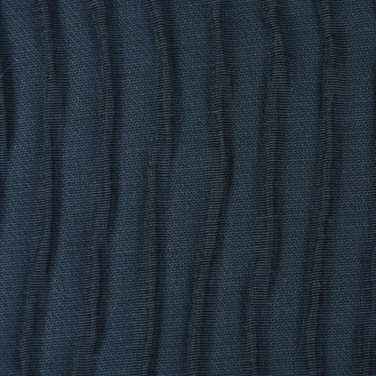 Schöner Wohnen Dekostoff Doppelgewebe Reliefeffekt Run Linien dunkelblau 126cm Breite
