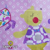 Kissenhülle Amelie&Friends, Dinky Dots 50x50 candy