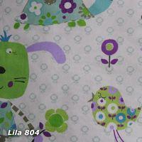 Kissenhülle Amelie&Friends, Dinky Dots 50x50 lila 001