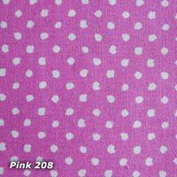 vom Hof Nackenrolle Kissenhülle Dinky Dots 15x40cm pink 001