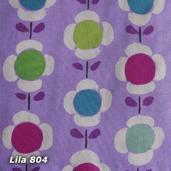 Kissenhülle Daisy Flowers 40x40cm lila