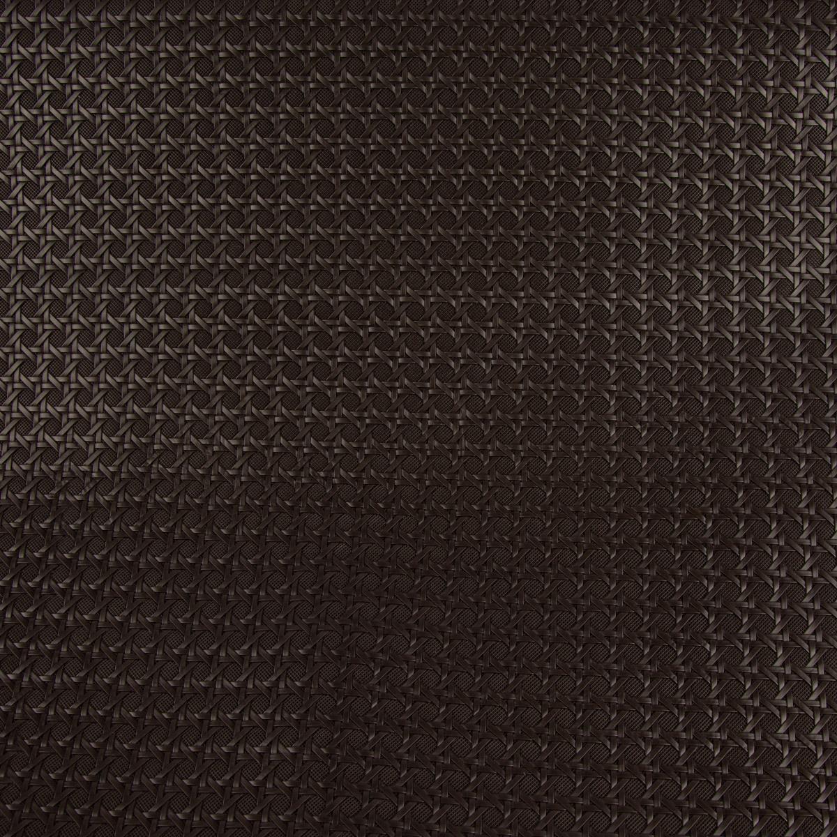 Kunstleder Lederimitat Struktur Geometrisch Relief braun lakritz 1,4m Breite