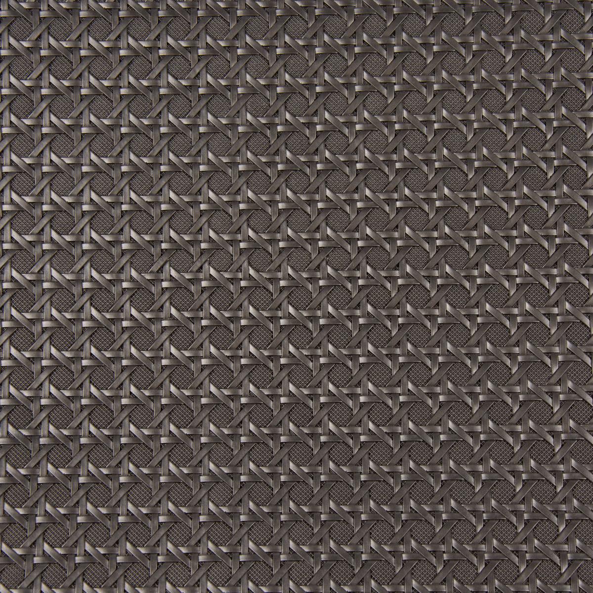 Kunstleder Lederimitat Struktur Geometrisch Relief silber-metallic 1,4m Breite