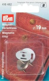 Prym Magnet Verschluß 19mm altmessing