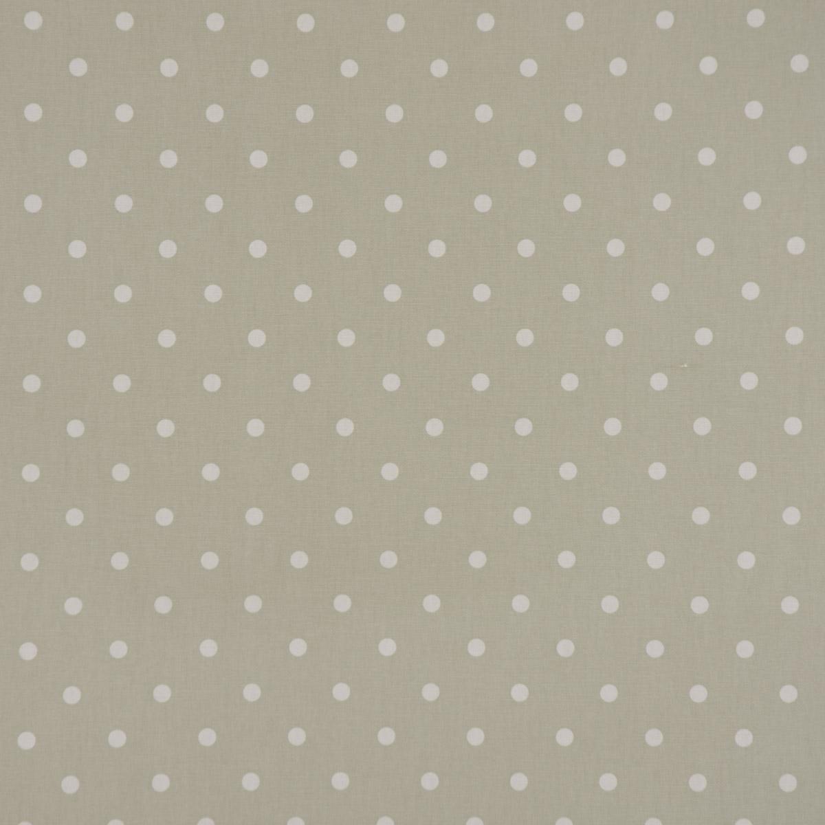 Stoffpaket in beige 3 Stoffstücke Karo Breite 140 cm Punkte
