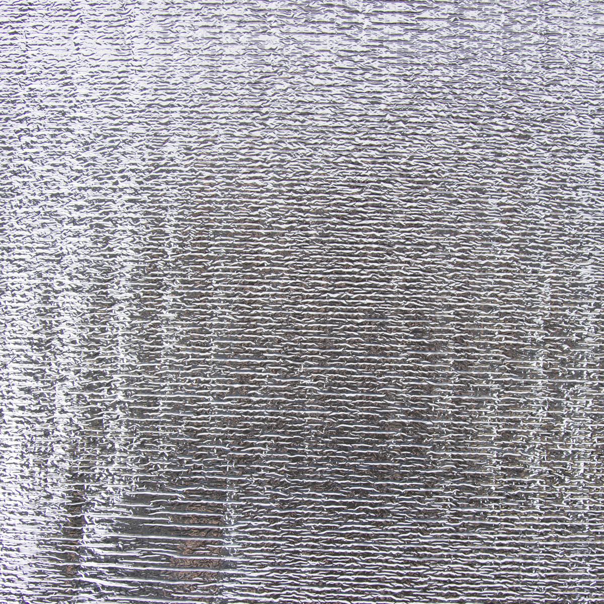 Thermostoff Thermoeinlage Isotherm 2mm silberfarbig weiß 1,23m Breite