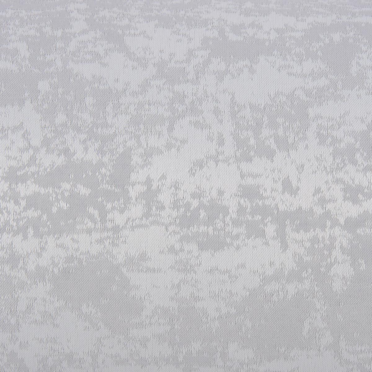 Tischdeckenstoff Damast Tischwäschestoff Teflon Dekostoff schraffiert silbergrau 3,20m Breite