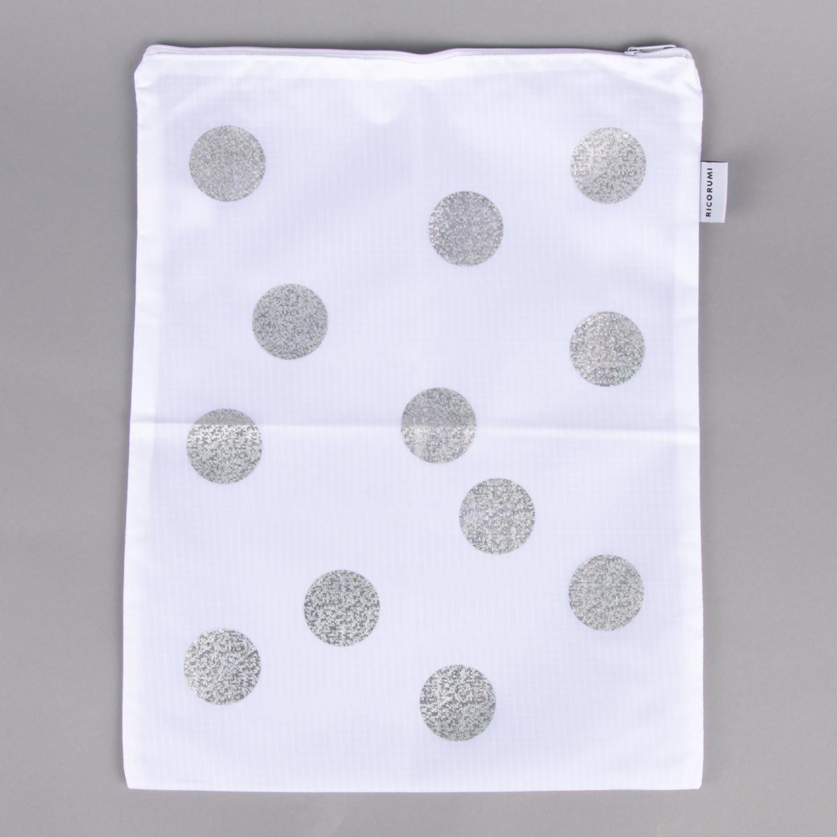 Rico Design Creative Bag gepunktet weiß 30x38cm