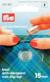 Prym Fingerhut ZDG silberfarbig 15mm