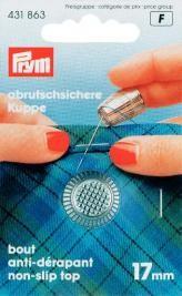 Prym Fingerhut silberfarbig 17mm