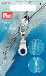 Prym  Zipper Öse silberfarbig
