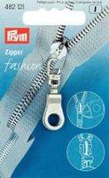 Prym  Zipper Öse silberfarbig 001