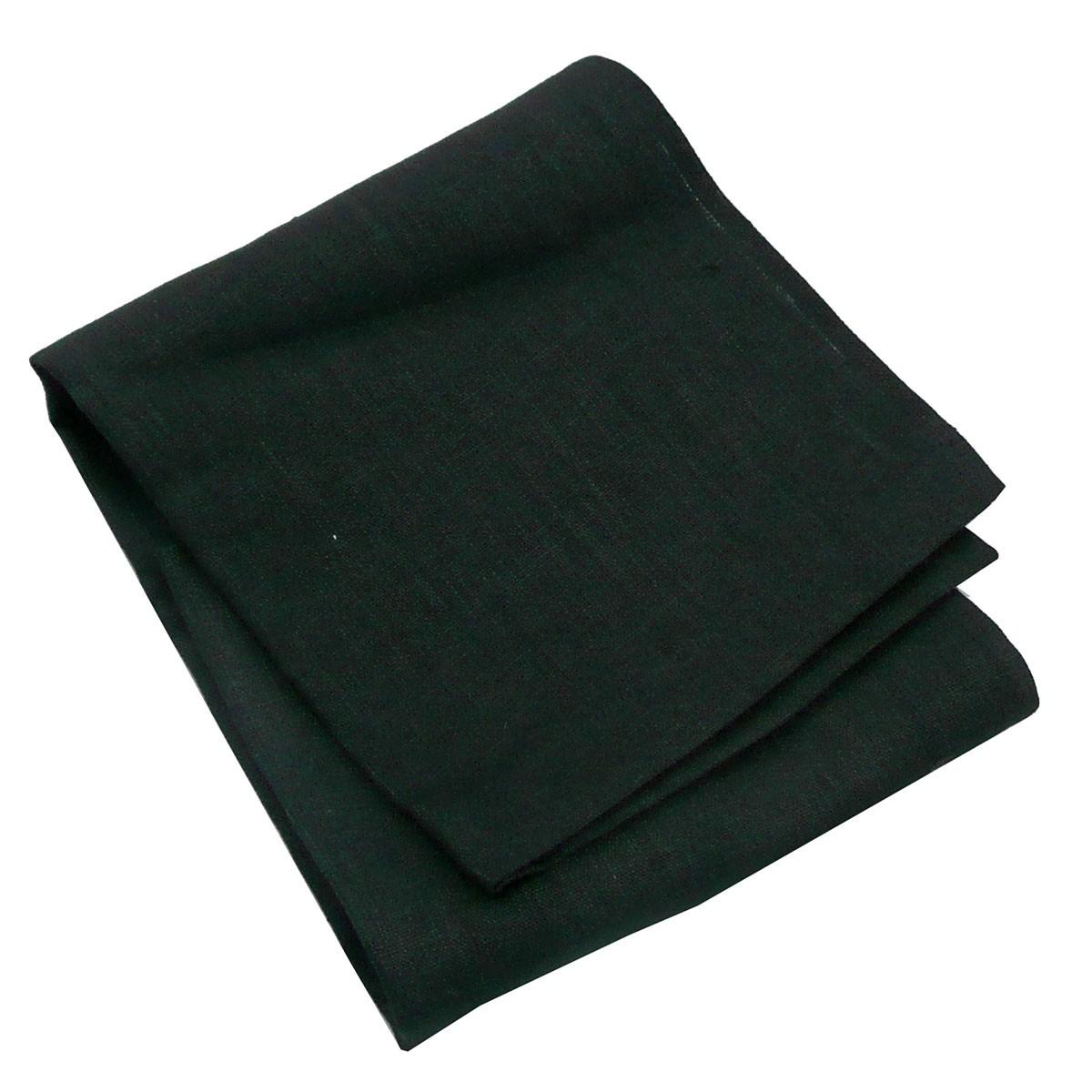 leinentischl ufer tischl ufer erik 1 lagig 47x150cm schwarz wohntextilien tischw sche tischl ufer. Black Bedroom Furniture Sets. Home Design Ideas