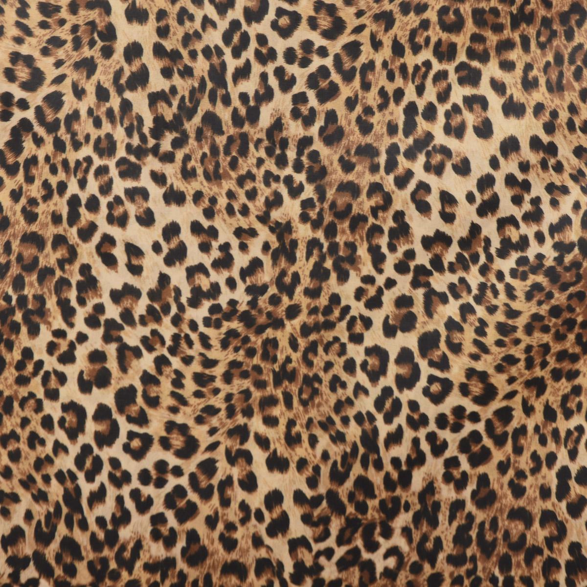 Samtstoff Dekostoff Velvet Samt Leopardenfell 1,45m