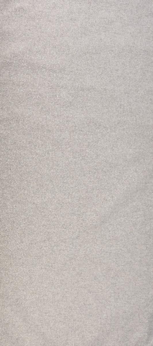 SCHÖNER LEBEN. Tischläufer Glamour uni hellgrau silber 40x160cm