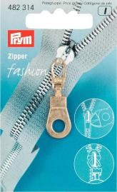 Prym  Zipper Öse goldfarbig