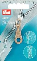 Prym  Zipper Öse goldfarbig 001