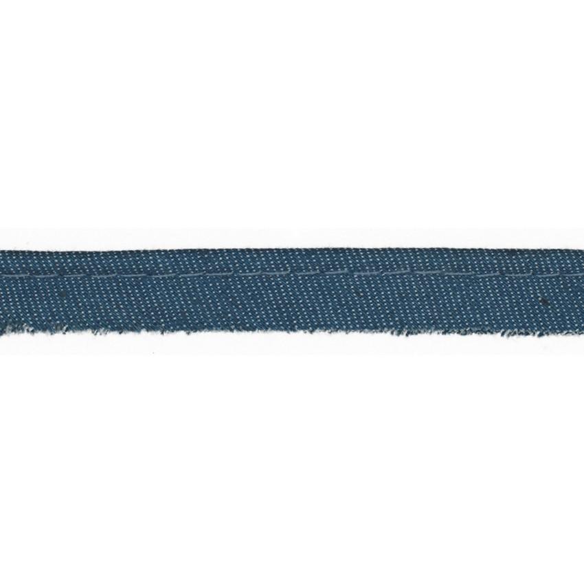 Paspelband Jeans Meterware denim Breite: 1cm